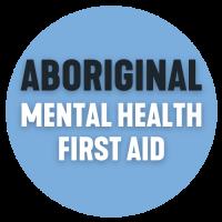 Aboriginal MHFA Blue click button