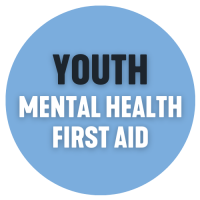 Youth MHFA Blue click button